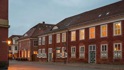 Gutenbergstraße-Potsdam-Holländisches-Viertel-am-Abend