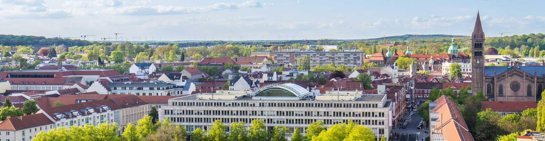 Panoramabild Stadt | Hausverwaltung wert + eigentum GmbH