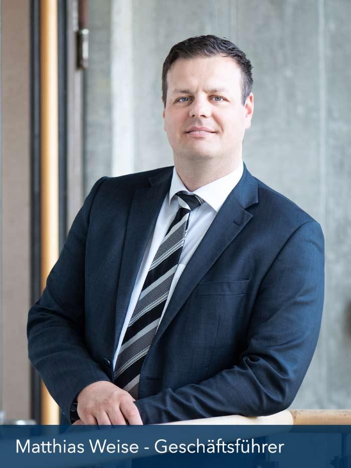 Geschäftsführer Matthias Weise | Hausverwaltung wert + eigentum GmbH